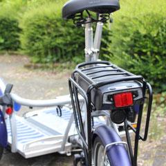 Van Raam VeloPlus2 met ombouwset Middenmotor van FON Fiets Ombouwcentrum Nederland