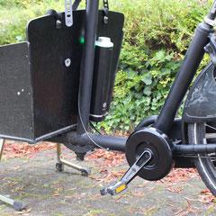 Bakfiets.nl Cargo Long Bakfiets met Pendix eDrive ombouwset Middenmotor van FON.bike Fiets Ombouwcentrum Nederland