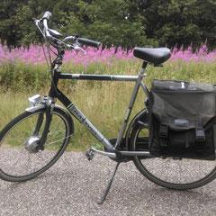 Batavus Intermezzo fiets met ombouwset elektrische fiets van FON