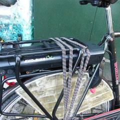 Gazelle met ombouwset voorwiel motor van FON