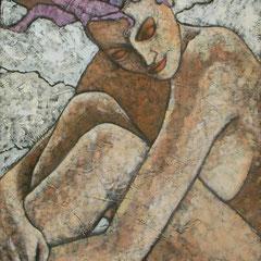 SOGNO  olio su tela  cm 50x70  anno 2009
