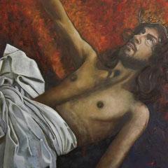 IL DOLORE DI CRISTO   cm 100x70   anno 2015