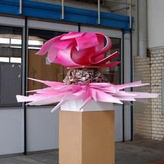 Hommage, 2009, Styropor, MDF, UV-Acryllack, 180 x 130 x 140 cm