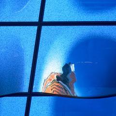 Spiegelbild in der Elbphilharmonie: Kehr Wieder Spitze _ © S. Baraucke