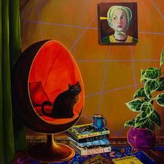 In Liebe, Acrylic on canvas, 165x145 cm, 2016