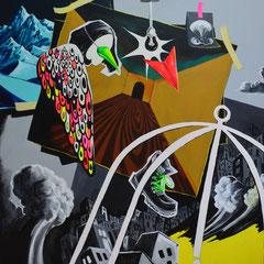 Halt!, Acrylic on canvas, 185x165 cm, 2014-2015