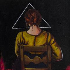 Die Ecke, Acrylic on canvas, 30x30cm, 2017