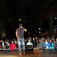 Concert de Rost, le rappeur militant - Photo © Anik COUBLE