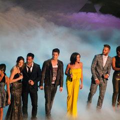 Tal, Emmanuel Moire,                     Jenifer, M.Pokora et Amel Bent - NRJ Music Awards 2013 - Cannes © Anik COUBLE