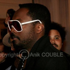 Will I am des Black Eyed Peas / Photo : Anik Couble