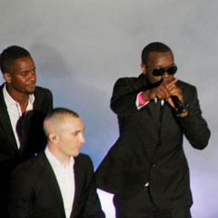 Black M, Maska et Maître Gims deSexion d'Assaut - NRJ Music Awards 2013 - Cannes © Anik COUBLE