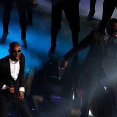 L.I.O. et Maître Gims de Sexion d'Assaut - NRJ Music Awards 2013 - Cannes © Anik COUBLE