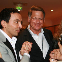 Christophe Maé, Kamel Ouali et                      / Photo : Anik Couble
