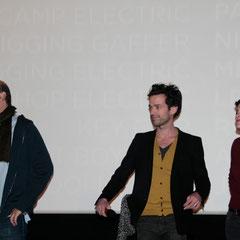"""Cédric Klapisch, Romain Duris et Audrey Tautou - Avant-Première du film """"Casse Tête Chinois"""" - Lyon - Nov 2013 - Photo © Anik COUBLE"""