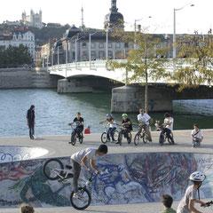 Quais du Rhône - Lyon - Photo © Anik COUBLE