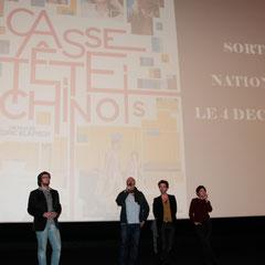 """Avant-Première du film """"Casse Tête Chinois"""" - Lyon - Nov 2013 - Photo © Anik COUBLE"""
