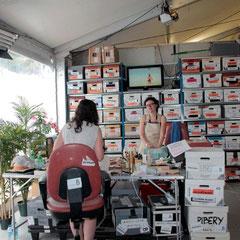 Coulisses des Guignols de l'nfo - Festival de Cannes 2012  © Anik COUBLE