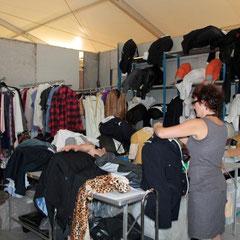Le dressing des Guignols de Canal + - Festival de Cannes 2012  © Anik COUBLE