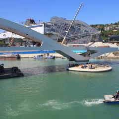 Pont Raymond Barre et Musée des Confluences - Lyon - Photo © Anik COUBLE
