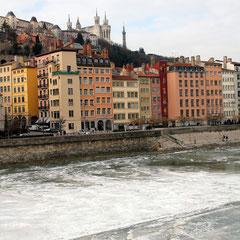 Quai de Saône - Lyon - Février 2012 © Anik COUBLE