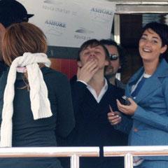Le bateau NRJ / Photo : Anik Couble