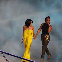 Jenifer et Amel Bent - NRJ Music Awards 2013 - Cannes © Anik COUBLE