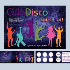 GilaSchool – Einladung zur GilaDisco