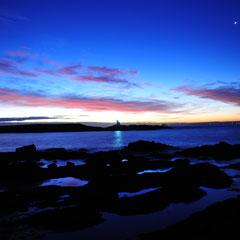 Sunrise blue