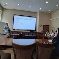 Стажировка для педагогов в Карловом университете в Чехии