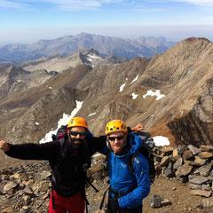 Ascensión con Guía de montaña, Pico Posets