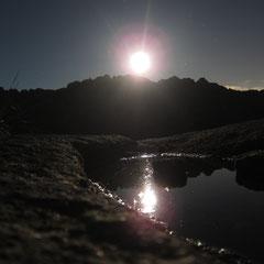 Senderismo en La Pedriza con luna llena