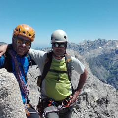Guías de montaña. Peña santa de Castilla