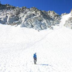 Corredor de la Rimaya al Pico de la Madaleta