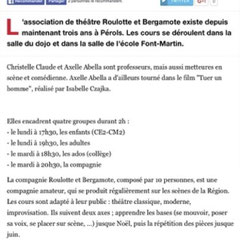 Article Midi Libre Septembre 2016