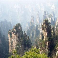Parque Nacional Zhangjiajie -  CHINA