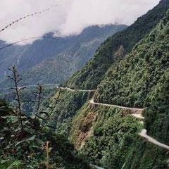 A Estrada de Yungas - BOLÍVIA