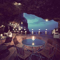 Restaurante Grotta Palazzese  - ITALÍA