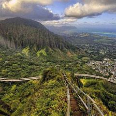 Haiku Stairs – Havaí, EUA