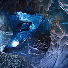 Crystal Cave - Parque Nacional de Skaftafell, ISLÂNDIA
