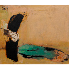 Nasser Hussein, Untitled, 2010 | Acrylic on canvas | 22 x 29,5 cm