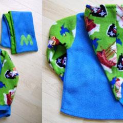 Kapuzenpulli MAX, als Jackenersatz für den Übergang, Größe 98/104, Fleece & Jersey