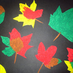 Der Herbst hält Einzug in unsere Klasse