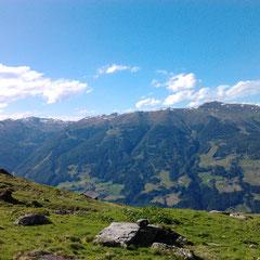 Blick in die Kitzbühler Alpen