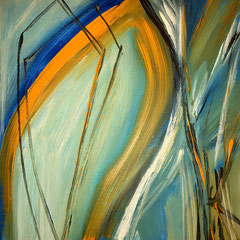 30 x 30 cm Acryl auf Leinwand