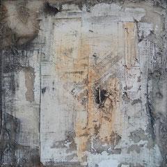 """""""Serie alte Wände 4""""  60x60x4    2014"""