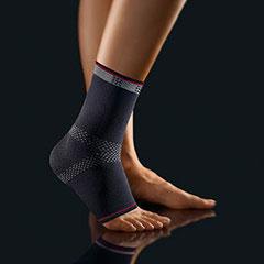 Fußbandage, schwarz