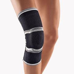 Bort-Kniebandage, schwarz