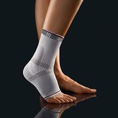 Fußbandage, grau