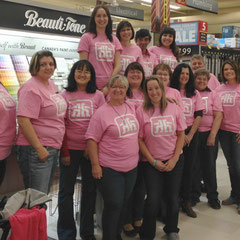 Home Hardware went pink to show support for Breast Cancer research in October...