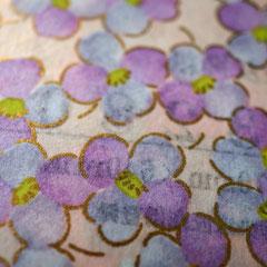 蓋の貼り紙の手染め千代紙(柄NO.3280)